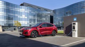 Az új Ford Kuga Plug in Hybrid
