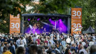 2019 firade Matfestivalen i Skövde 30 år, men 2020 blir den inställd. Foto: Tobias Andersson/Next Skövde