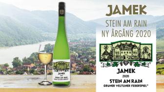 Den 6 juli är det dags för lansering av den nya årgången av Jamek Stein am Rain Grüner Veltliner Federspiel. Ett friskt och fruktigt vitt vin från Österrike.