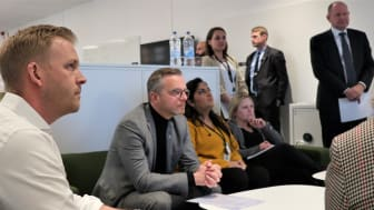 I onsdags besökte inrikesminister Mikael Damberg MSB.