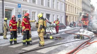 Illustrasjonsbilde fra Oslo brann- og redningsetat.