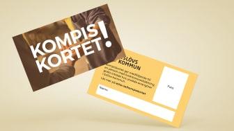 Kompiskortet ger personer med funktionsvariationer möjligheten att ta med sig exempelvis en vän eller en familjemedlem på aktiviteter, helt gratis.