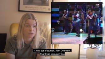 Dokumentärfilmen Lock it up av Mimmi Mollgren visas under Lock at me på Dansmuseet.