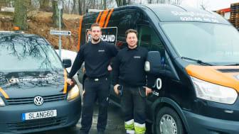 SlangExpress har växlat upp i Karlskrona