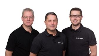 Bröderna Öqvist  som grundade SÖ-Däck 2010 av bröderna Krister Öqvist, Magnus Öqvist och Henrik Öqvist.