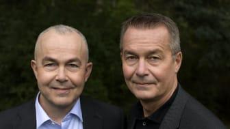 Christer och Roger Wikström. Foto: Tobias Regell