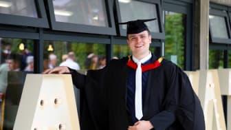 Northumbria University Mathematics graduate Jack Clare