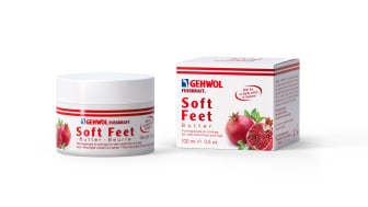 Wellness for the feet and legs –  now even more intensive