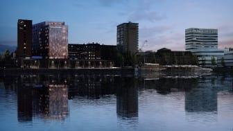 Clarion Hotel Stream vid Umeälven