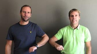 Niclas Brodin, BEE Automation och Kenneth Lindqvist, Schneider Electric