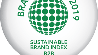 Riksbyggen branschbäst, Sustainable Brand Index B2B 2019.