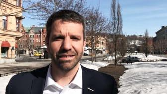 Joakim Sjöstedt, ny regionchef för Företagarna Västernorrland och Jämtland-Härjedalen.