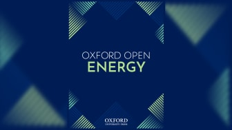 Oxford University Press launches Oxford Open Energy, the latest in the Oxford Open journal series