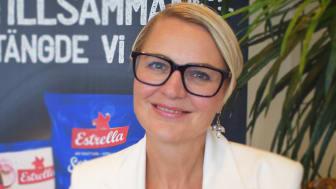 Ulrika Wallberg, ny CEO för Estrella sedan mitten av augusti 2021.
