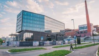 COWIs nye hovedkontor, Portalbygget på HasleLinje.