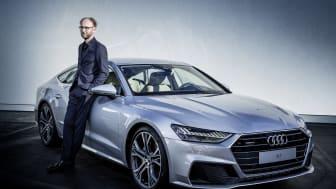 Säljstart för Nya Audi A7 Sportback