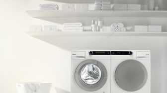 Den intelligente vaskemaskine styrer vasken
