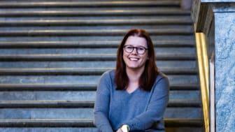 Eva Lindahl får Kungl. Vitterhetsakademiens pris för sina insatser som historielärare på De Geergymnasiet i Norrköping.