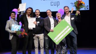 Woshapp vann priset Game Changer. Fotograf: Victor Ackerheim