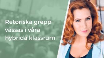 Elinor Falkman är retorikexpert och håller i retorikpass under våra certifierande program.
