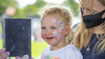 Families from across Mid and East Antrim turned out to enjoy a fun-filled Garden Party on Saturday to mark the centenary of Northern Ireland.