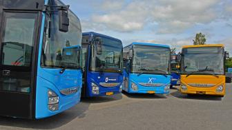 IVECO BUS og VBI Group har påbegyndt leveringen af 142 Crossway-busser i Danmark.