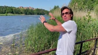 Petter Stordalen berättar om projektet.