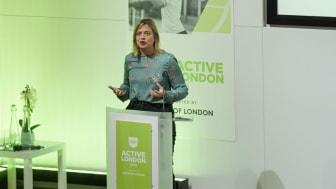 London Sport Chair Jillian Moore at Active London 2019