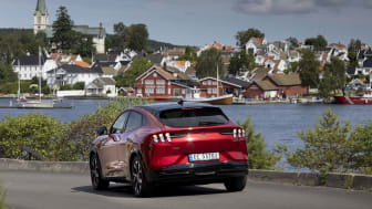 Ford Mustang Mach-E sommer 2021