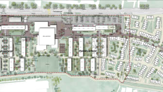 Taastrupgaard - situationsplan 2030