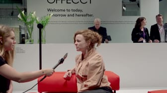 Lucy Kurrein about the collaboration with Offecct and her sofa Lucy