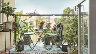Slik skaper du den perfekte balkongen!