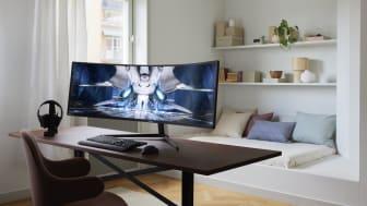 Samsung presenterar nya gamingskärmen Odyssey Neo G9