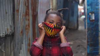 Flicka Etiopien