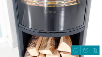 Contura 500 Style med ny design på luckan