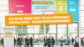 Anlegermesse Börsentag Berlin 2020: Kontakte ohne Kontakt