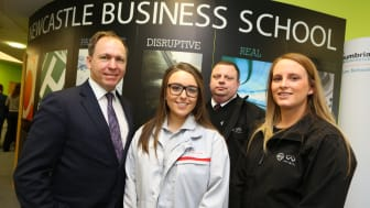 Car making giant favours Newcastle Business School students