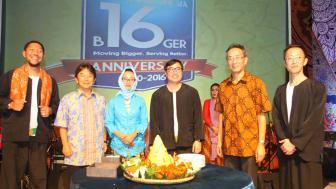 Manajemen PT Epson Indonesia dalam acara Grand Opening & 16th Anniversary Epson Indonesia