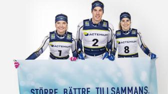 Actemium Sverige förlänger samarbetet med längdlandslaget till år 2024
