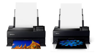 The new Epson SureColor SC-P703 (left) and SureColor SC-P903 (right)
