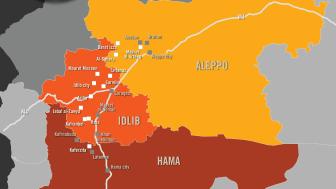 Syrien - Konstaterade krigsbrott av ryska och syriska styrkor - men nödhjälpen till Syrien måste fortsätta