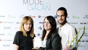 Vinnare Årets Designer/designerteam Habit Modegalan 2012 - Ann-Sofie Back