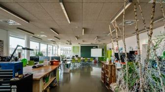 Ab dem 11. August 2021 stehen die Türen des ViNN:Lab der TH Wildau für Kreative, Gründungsinteressierte und Neugierige wieder in eingeschränkter Form offen. (Bild: TH Wildau)