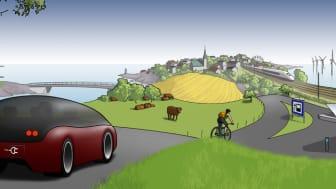 Blekinge blir förebild för hållbar transportsektor