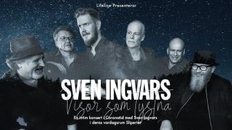 """Sven Ingvars spelar Live i egna """"vardagsrummet"""" på Sliperiet i Borgvik med en intim konsert - """"Visor som tystna"""""""