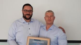 Niklas Jönsson, Purus Area Sales Manager & Mihai Strugaru, Evesicran CEO