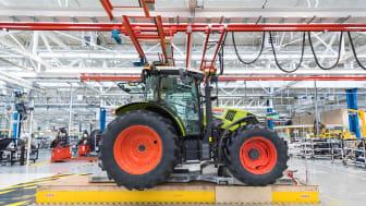 Nu står CLAAS traktorfabrik i Le Mans klar, med toppmodern teknologi och medarbetarna i fokus!