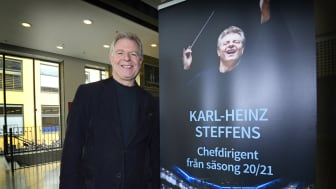 Karl-Heinz Steffens, ny chefdirigent SON. Foto SON