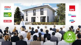 Der Wohn- und Bausektor nimmt Einfluss auf den Wahlkampf 2021.