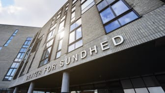 Center for Sundhed, indgangsparti